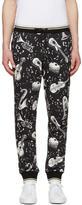 Dolce & Gabbana Black Instrument Lounge Pants