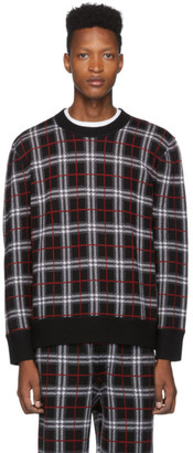 Burberry Black Check Fletcher Sweater