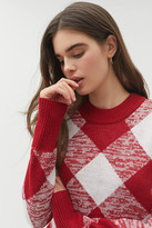 The Fifth Label Angle Knit Argyle Sweater