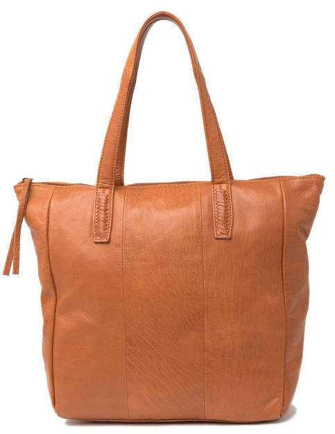 Day & Mood Pax Leather Shopper Bag