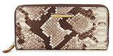 Vince Camuto Marly Snake Zip-Around Wallet