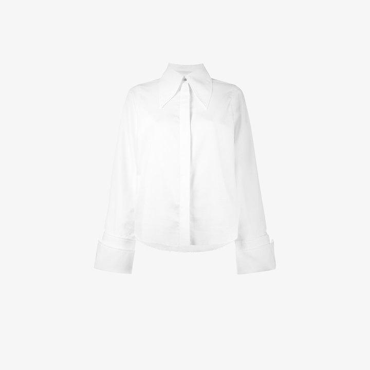 Marques Almeida Marques'almeida buttoned long sleeve shirt