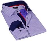 Levinas Pin Dot Contemporary Fit Dress Shirt