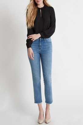 Flying Monkey Faria Cropped Straight Leg Jeans