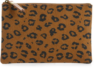 Madewell The Canvas Pouch Clutch in Painted Spots