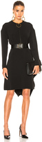 Marni Stretch Cady Long Sleeve Dress