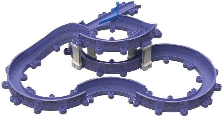 Chuggington StackTrack Twists and Turns Action Track Pack