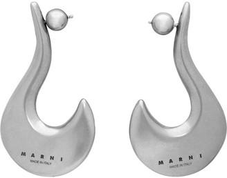 Marni Silver Hook Earrings