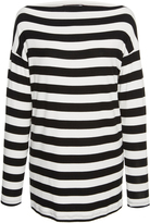 Tomas Maier Striped Long Sleeve Top