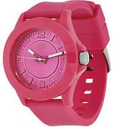 Skechers Women's Pink Silicone Strap Watch - Rosencrans