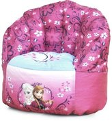 Disney Frozen Bean Bag Chair Made From 100% Polyester Fabric, Pink, For Kids 3 Years And Up, Fun And Functional