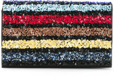 Alice + Olivia Alice+Olivia - sequined clutch - women - PVC - One Size