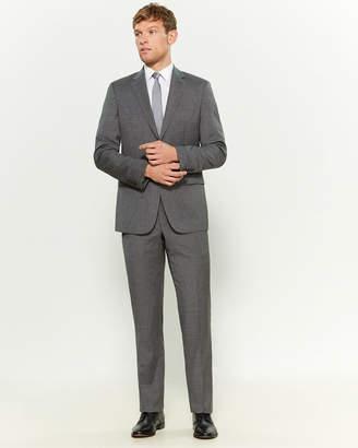 Versace Two-Piece Medium Grey Wool Pinstripe Suit