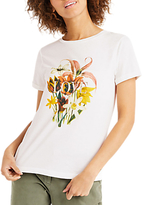 Oasis Love Bouquet Print T-Shirt, Cream
