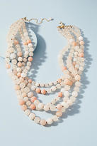 Anthropologie Summer Frost Layered Necklace