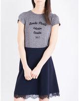 Claudie Pierlot Transat jersey T-shirt