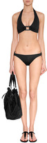 Marc by Marc Jacobs Black Studded Rubber Thongs