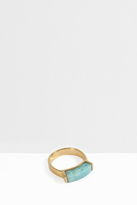 Monica Vinader Linear Amazonite Stone Ring