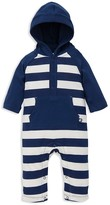 Offspring Boys' Hooded Striped Coverall
