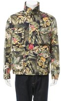 Ami Alexandre Mattiussi Tropical Print Utility Jacket
