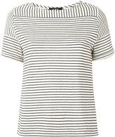 A.P.C. striped shirt - women - Cotton/Linen/Flax/Polyester/Viscose - XS