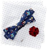 Original Penguin Check Floral 3-Piece Bow Tie Boxed Set