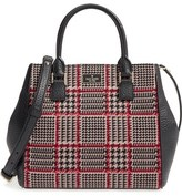 Kate Spade Prospect Place Maddie Houndstooth Satchel