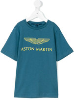 Aston Martin Kids - logo print T-shirt - kids - Cotton - 3 yrs