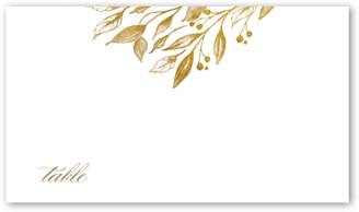 Shutterfly Classic Herald Wedding Place Card