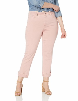 NYDJ Women's Plus Size Marilyn Straight Ankle Jean with Clean Cuff