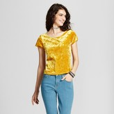 Mossimo Women's Crushed Velvet Baby T-Shirt