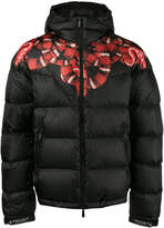 Marcelo Burlon County of Milan Tropical down jacket