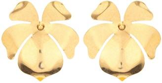 Jennifer Behr Mykah floral earrings
