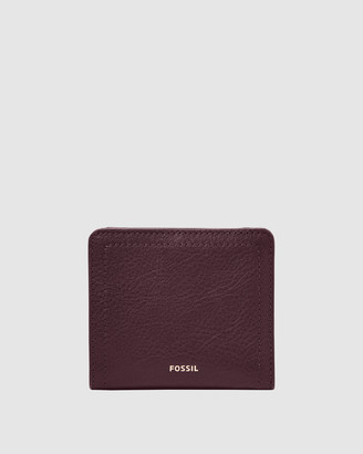 Fossil Logan Purple Wallet