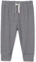 Gap Organic stripe banded pants