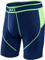 Saxx Kinetic Men Underwear Boxer Briefs, No Fly, Long Leg 8 Inch Inseam