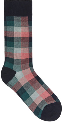 Arket Checked Supima Cotton Socks