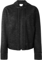 DKNY double zipped fastening hoodie