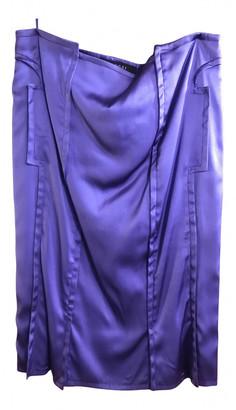 Gucci Purple Silk Skirts
