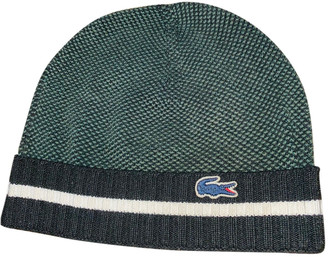 Lacoste Green Polyester Hats & pull on hats