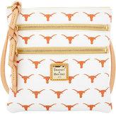 Dooney & Bourke Texas Longhorns Triple-Zip Crossbody Bag