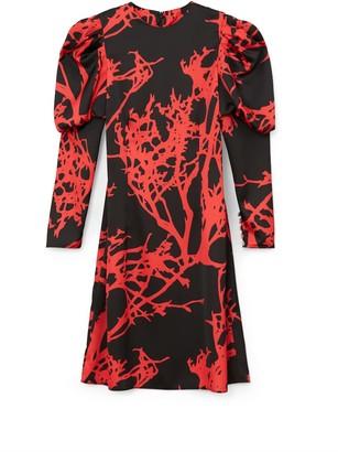 Phoebe Grace Talulah Mini Dress In Red Tree