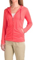 White Sierra Bug-Free Hoodie - UPF 30+, Zip Front (For Women)