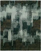Natori Dynasty- Brushstroke Gray Tones Rug