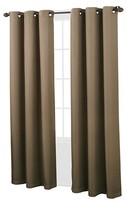 "Nobrand No Brand Montego Casual Grommet Top Curtain Panel - White (48""x95"")"