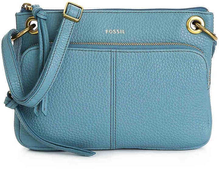 5f114e3ef Fossil Blue Crossbody Shoulder Bags - ShopStyle