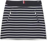Tommy Hilfiger Girl's Ame BI Stripe Skirt,(Manufacturer Size: 14)