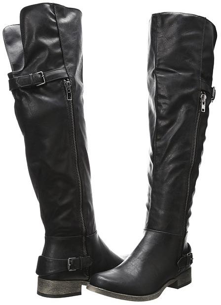 Call it SPRING Soska (Black Synthetic) - Footwear