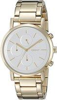 DKNY Women's NY2274 SOHO Gold Watch