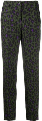 Boutique Moschino Leopard Print Trousers